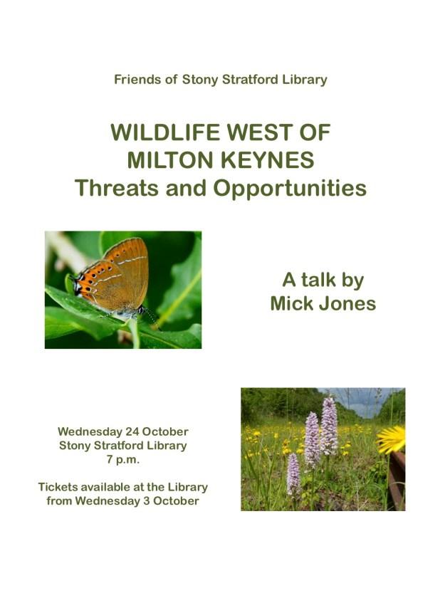 Poster for Mick Jones talk