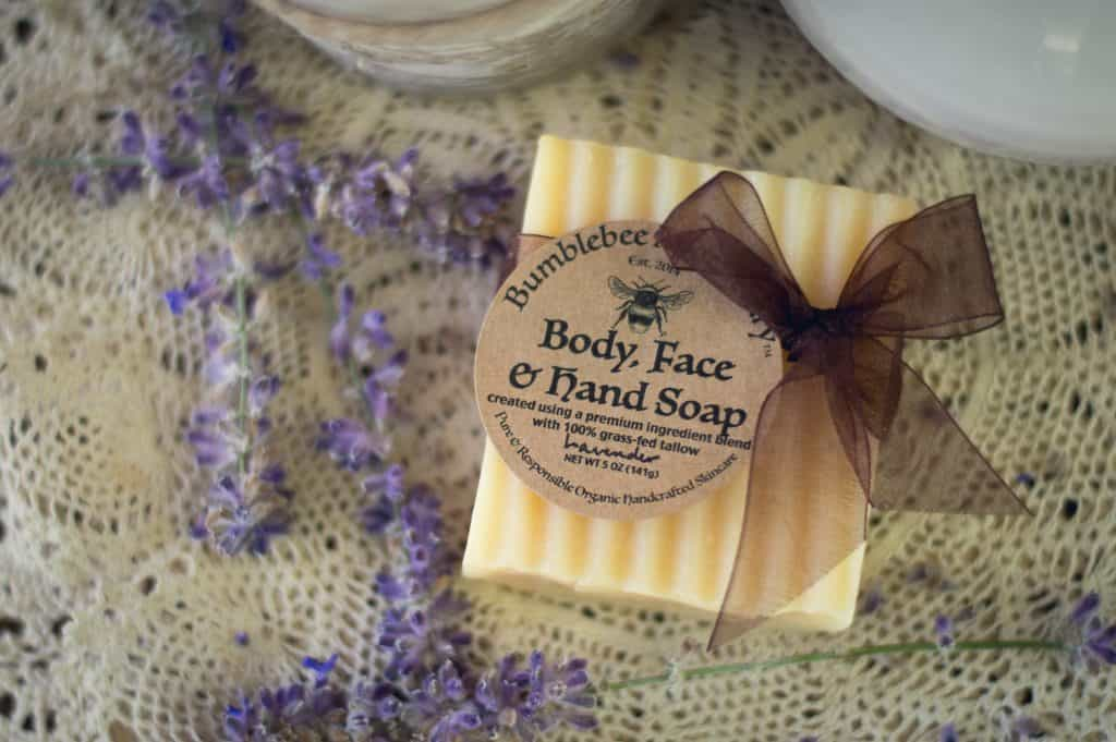 how to make lavender tallow soap diy recipe and tutorial