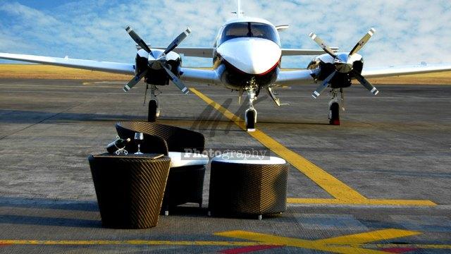 Furniture on Runway