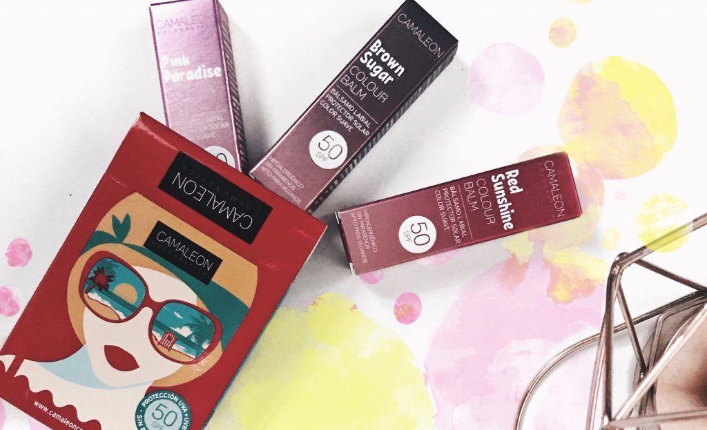 Colour Balm, bálsamos labiales reparadores, protectores y con color de Camaleon Cosmetics