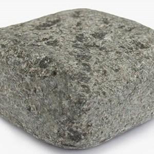 Галтованная гранитная брусчатка Габбро-диабаз