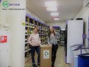 MK Service также оказывает услуги по вывозу картона из магазинов