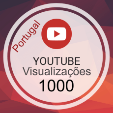 1000 Visualizações Video Portugal