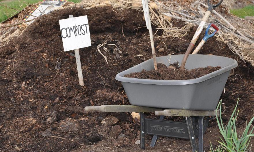How to create a simple compost manure