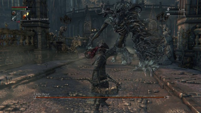 bloodborne-how-to-kill-first-boss-cleric-beast