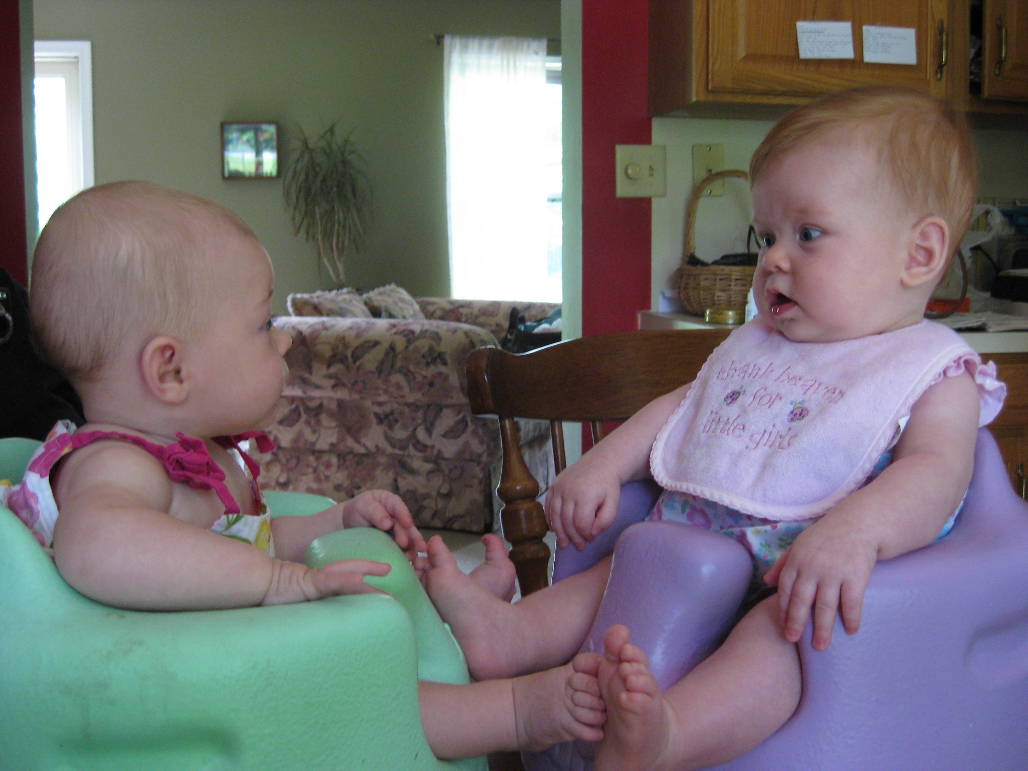 Violet and Jenna