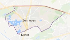 Kaart luchthavenvervoer in Zonhoven