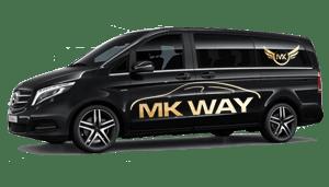 luchthavenvervoer taxi van Dentergem