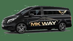luchthavenvervoer taxi van Schoten