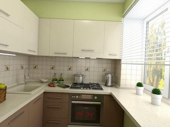 Кухня Дизайн Хрущевка Фото