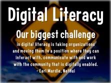 digital literacy quote