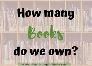 How many books do we own in our house