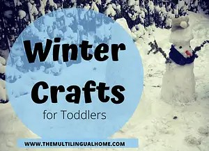 Winter Crafts for Toddlers