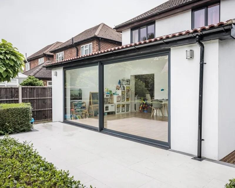 exceed grey 3m aluminium sliding doors aspire doors