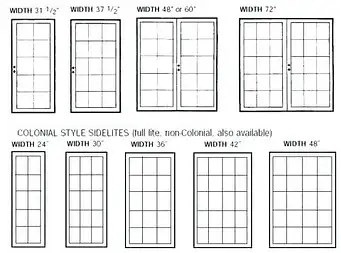 what size french doors do i need