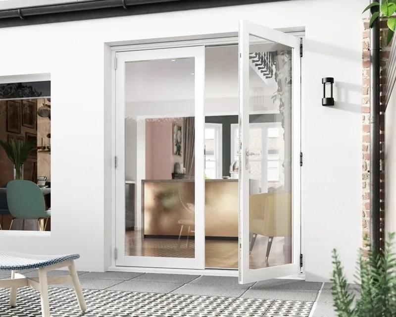 icon white french 1 8m patio doors aspire doors