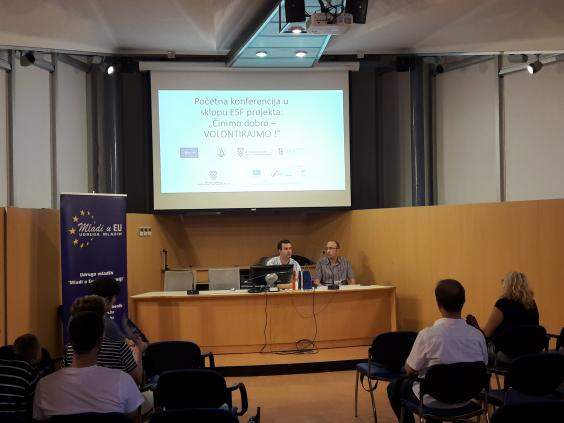 CinimoDobroVolontirajmo-Pocetna konferencija projekta