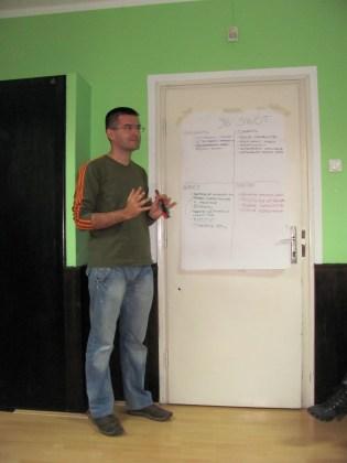 Marko Gaćinović predstavlja SWOT analizu