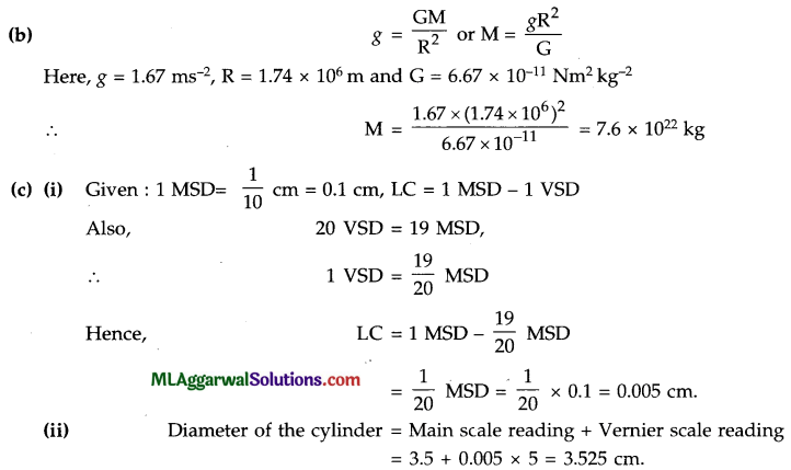 ICSE Class 9 Physics Sample Question Paper 8 with Answers 1