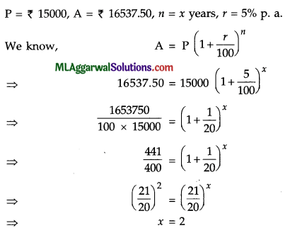 ICSE Class 9 Maths Question Paper 7 with Answers 26