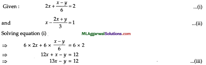 ICSE Class 9 Maths Question Paper 8 with Answers 14
