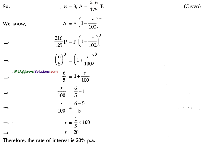 ICSE Class 9 Maths Question Paper 8 with Answers 6