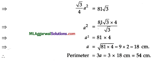 ICSE Class 9 Maths Sample Question Paper 3 with Answers 32