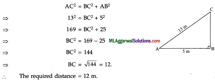 ICSE Class 9 Maths Sample Question Paper 9 with Answers 15