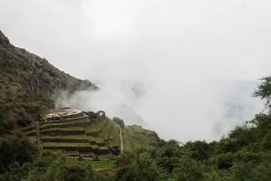 Love heart shaped Inca site