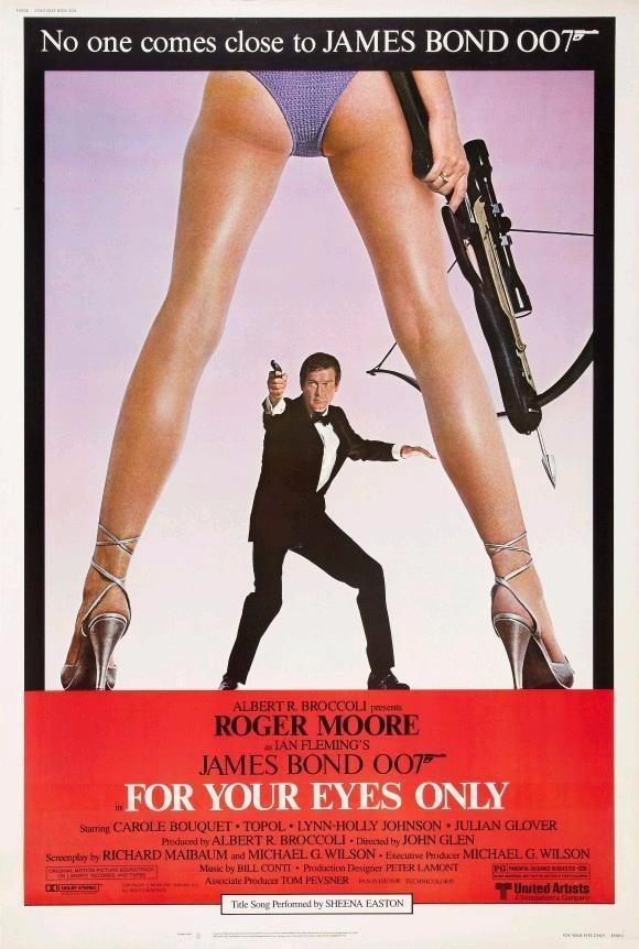Poster do filme 007 - Somente para seus olhos