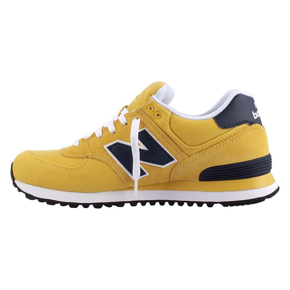 Tenis New Balance 574 Amarelo