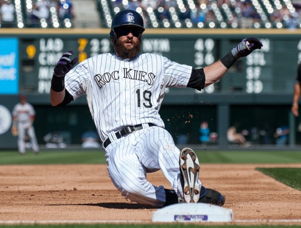 Image result for charlie blackmon beard