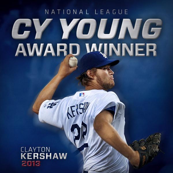 Kershaw wins NL Cy Young Award
