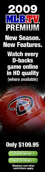 2009 MLB.TV Premium. Watch every [club]'s game online in HD quality.
