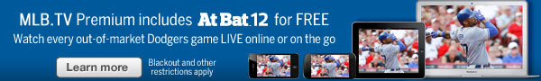 Watch every out-of-market Dodgers game LIVE online or on the go. Learn more