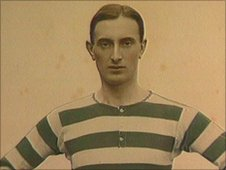 Donny Bell in his early football career