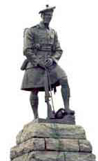 The Highlander' Memorial to 51st Highland Division