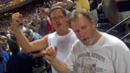 BillO and Davelee at Turner Field, 2010