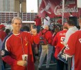Playoff party at Ballpark Village, 2011