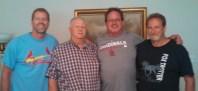With Bill Stocklas , Twins Roadtrip 2015.