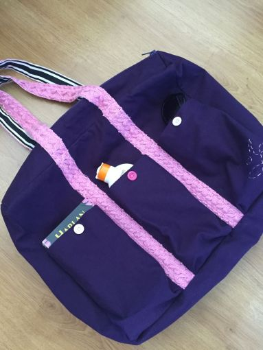 Un sac de plage…multi-poches!