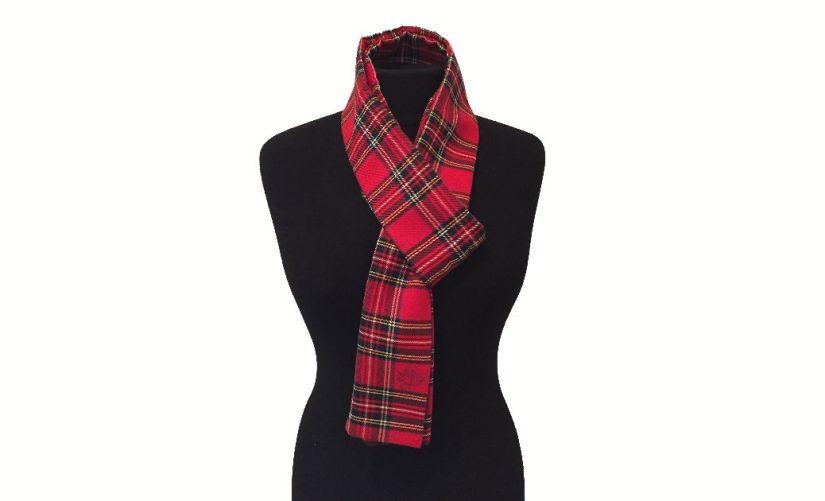 Un foulard écossais