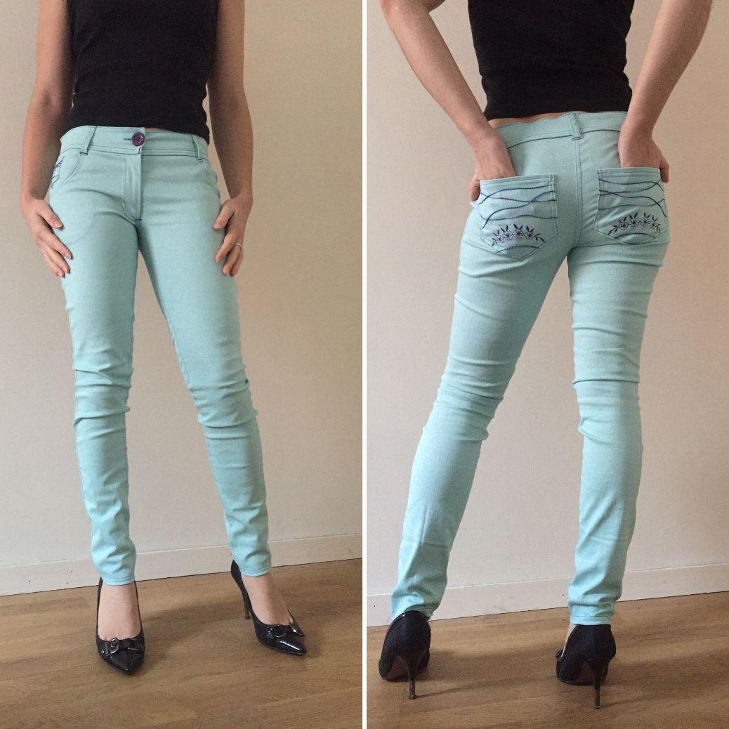 Mon premier pantalon type Jeans!