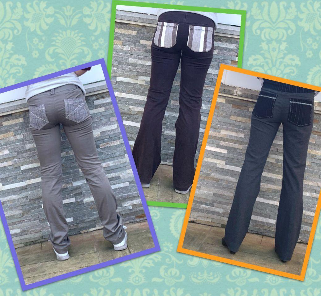 Ajouter des poches sur un pantalon