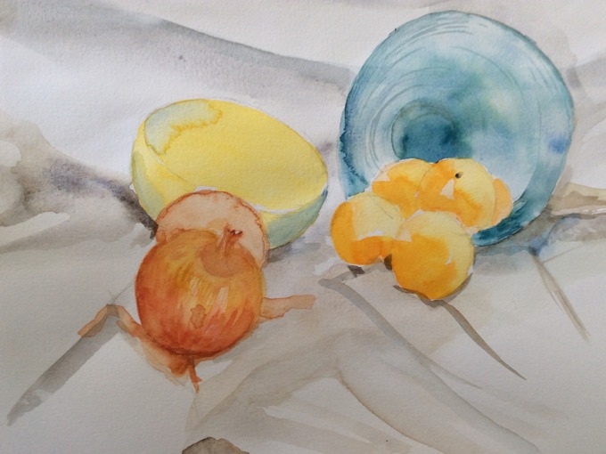 Aquarelle adulte