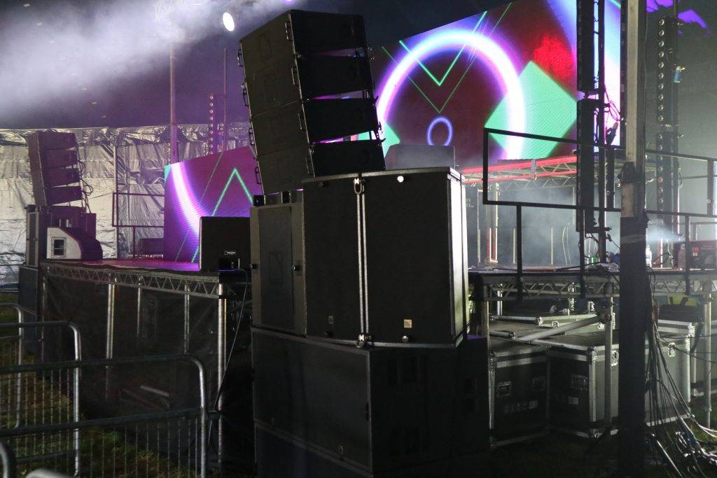 Dance Tent at Music First Festival 2018