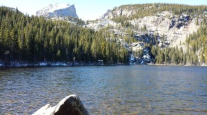 Bear Lake, RMNP, about 9,200 feet altitude