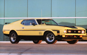 Ford Mustang 1971. - 1973.
