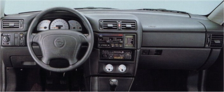 Opel Calibra - unutrašnjost