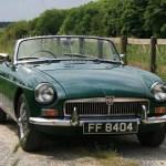 MG B 1962. – 1980. – Istorija modela